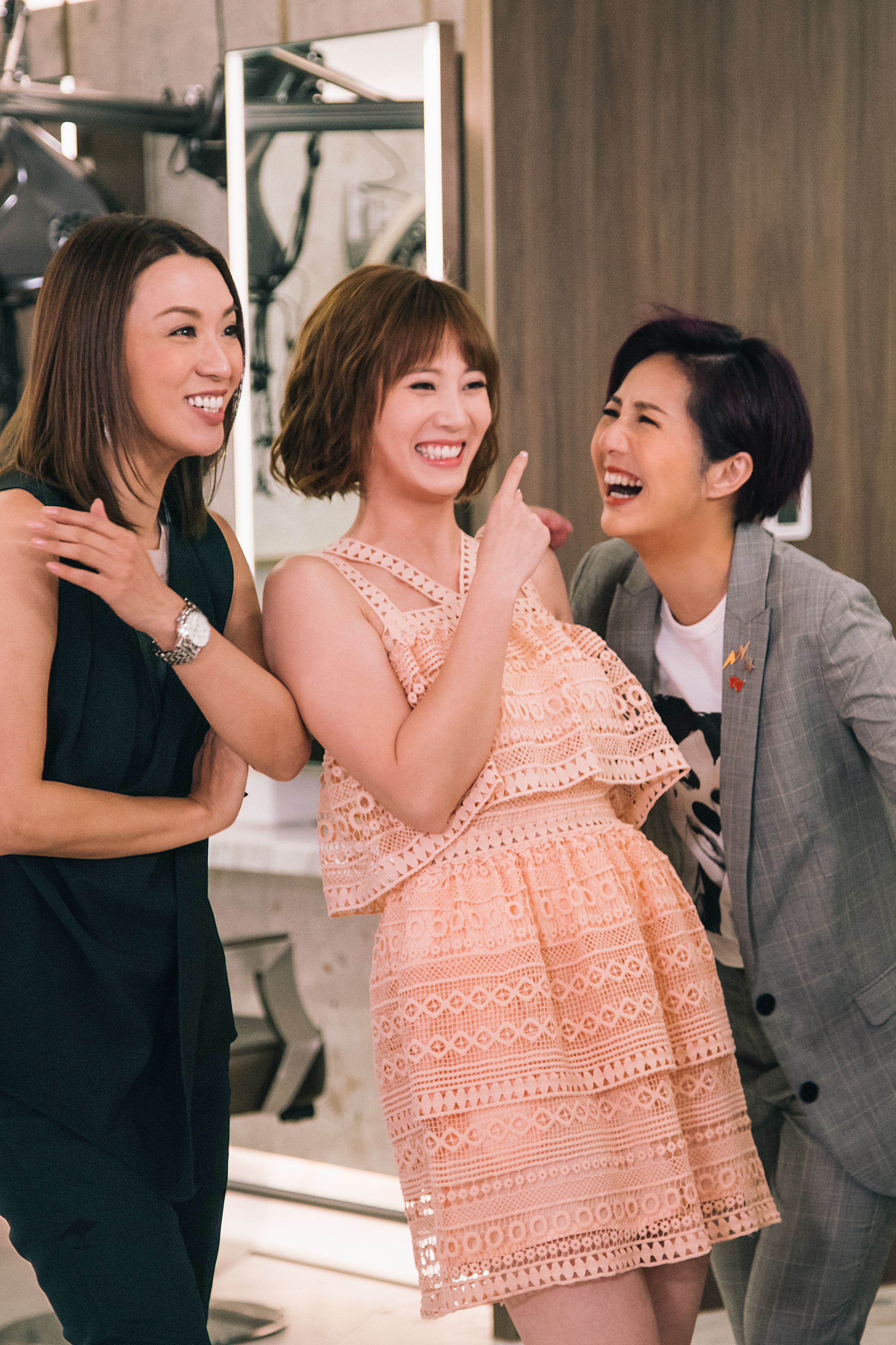 朱朱話拍該劇最開心跟千嬅和煒哥成為真正的好姊妹。