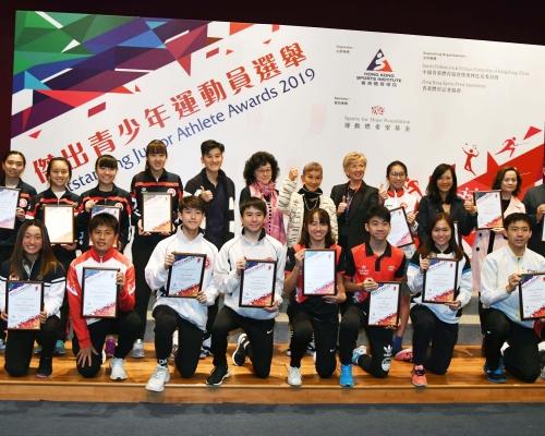 傑出青少年運動員選舉嘉許30體壇新秀