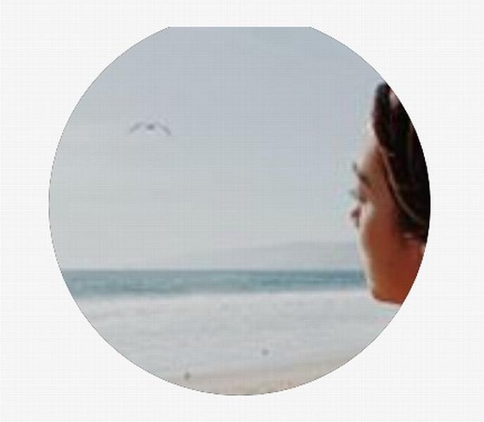 黃心穎上月將社交平台帳戶頭像照,換成側面新照。