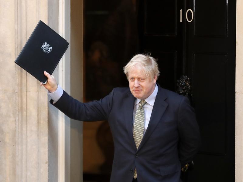 约翰逊明反对苏格兰举行第二次独立公投。图