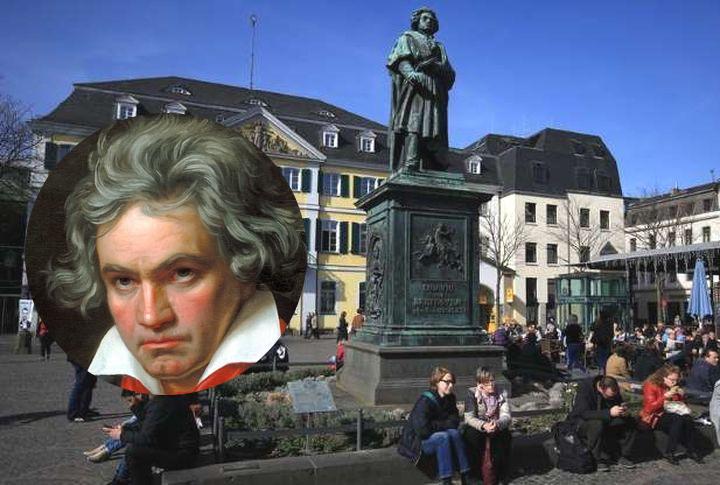 贝多芬1770年生于德国波昂,当地为纪念他明年250冥诞,将举办庆祝活动。