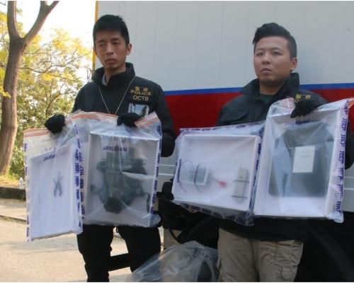 警方小欖拘捕3男涉試爆自製遙控炸彈 相信擬公眾集會發動襲擊