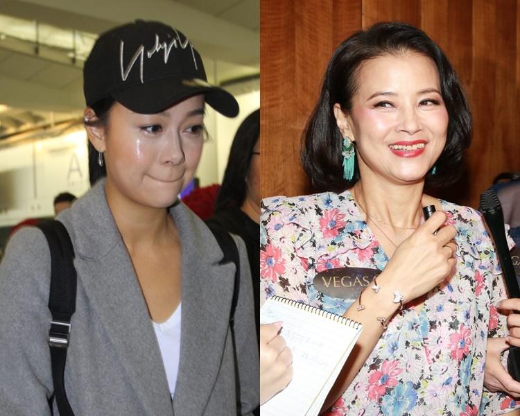 黎燕珊(右)表示掛念黃心穎,也歡迎她回無綫拍劇。
