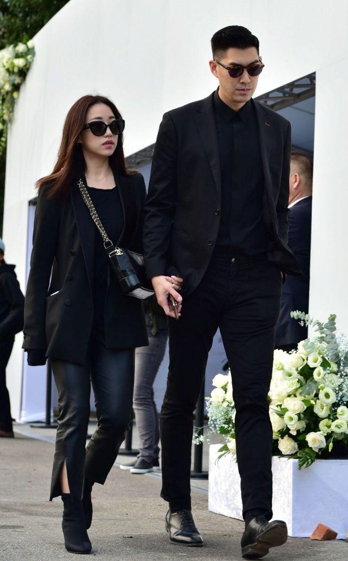 毛加恩與妻子。(網圖)