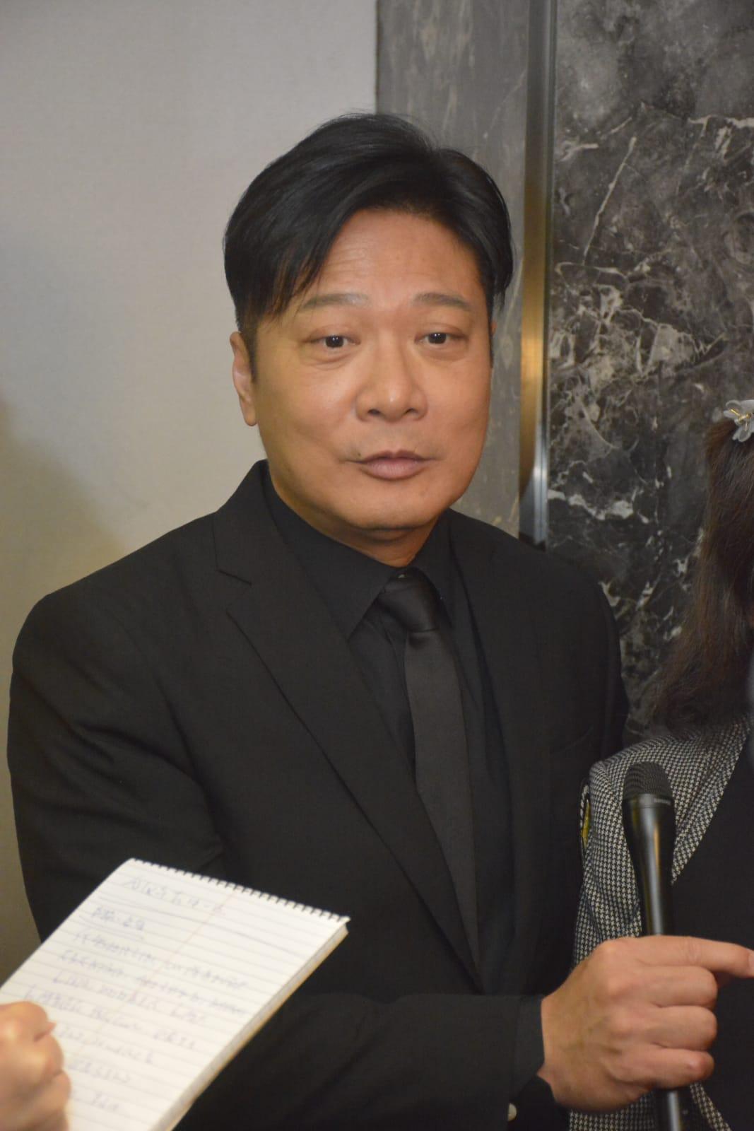 代表香港動作特技演員公會出席的錢嘉樂,透露追思會費用由公會負責。