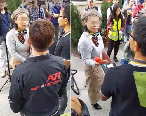 市民「野餐」抗議屯門公園噪音 一度與「大媽」爭執