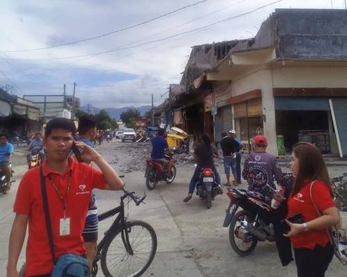 菲律賓棉蘭老島附近6.8級地震  至少4死14傷