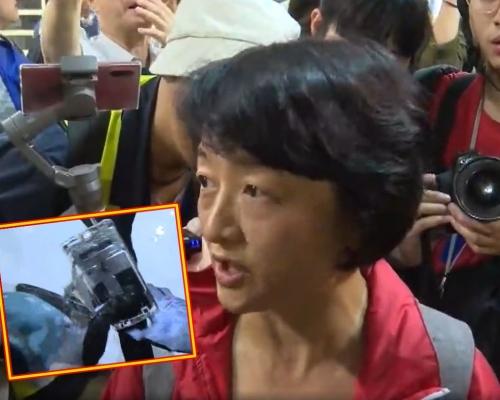 【和你Shop】女子沙田被指拍攝示威者 被搶手機破壞