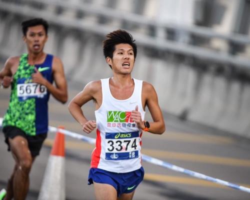 黃尹雋打破塵封35年香港男子全馬紀錄