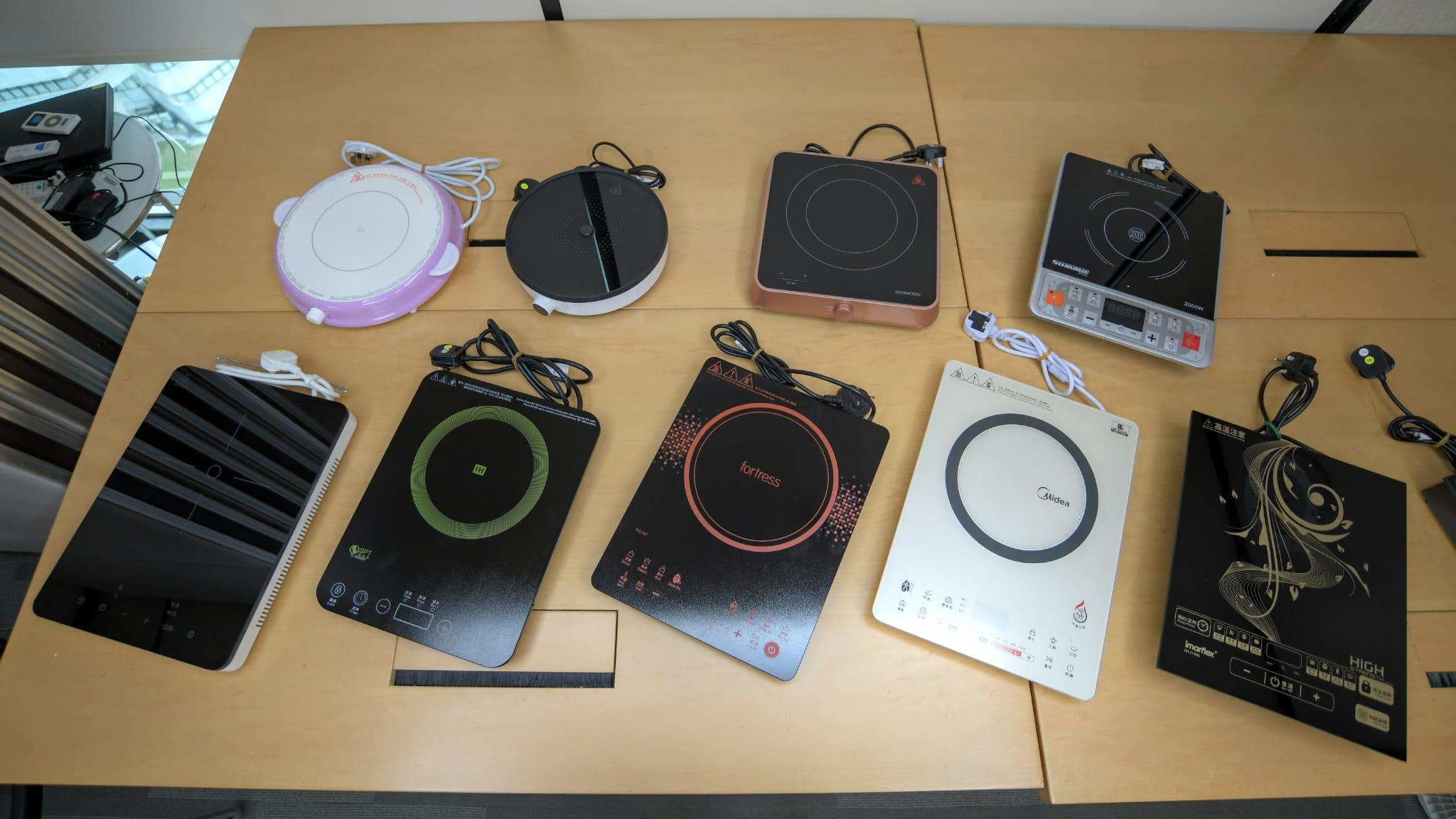 消委員測試市面12款單頭電磁爐。