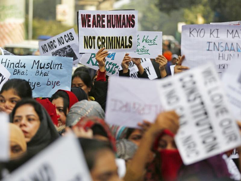 印度反《公民身分法》抗争行动升级。