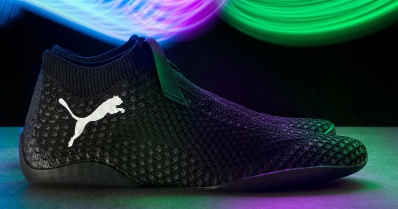 Puma打游戏机专业鞋。网图
