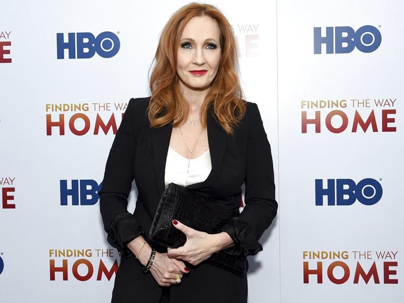 《哈利波特》女作家者罗琳发表针对跨性别人士的言论被抨击。图