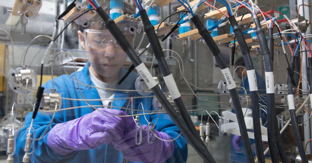 IBM宣布新的电池技术毋须使用钴等重金属。(IBM twitter图片)