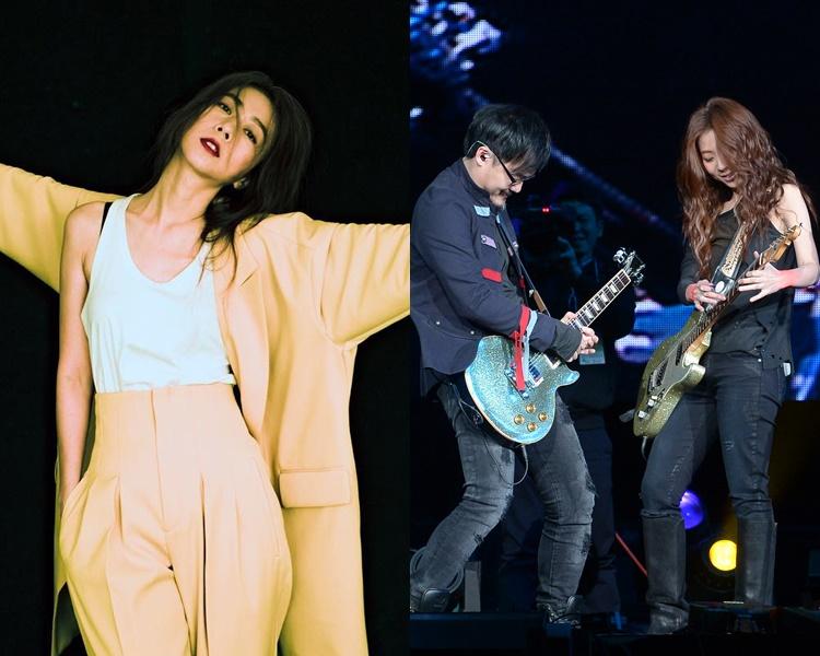 跟音樂人鍾成虎分手後,「台灣文青女神」陳綺貞驚爆搭上有婦之夫!