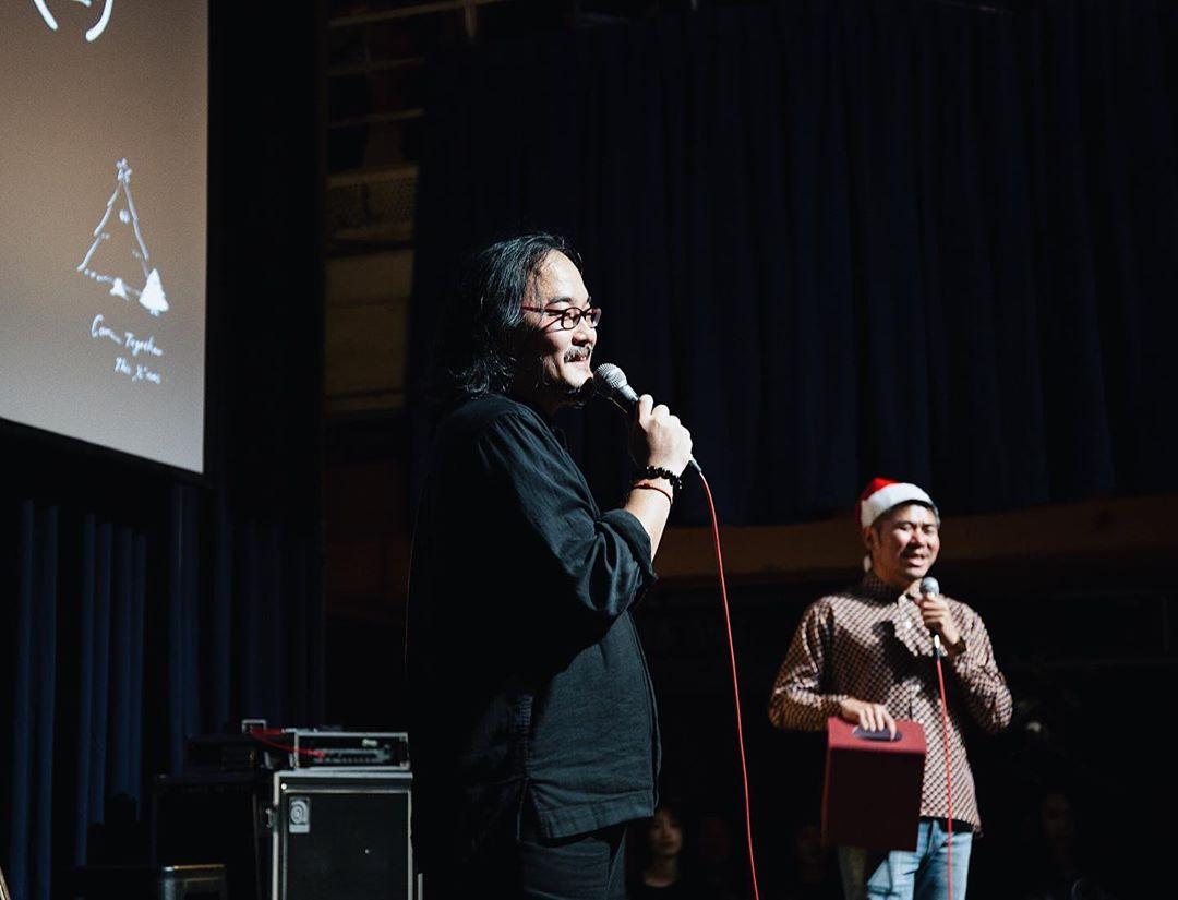 當日活動,陳綺貞舊愛、音樂人鍾成虎也有出席。