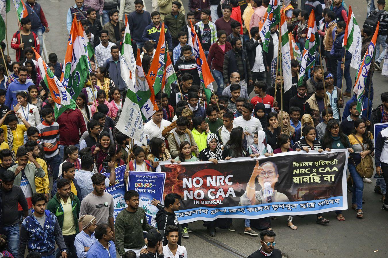 印度《公民身分法》引发大规模示威。