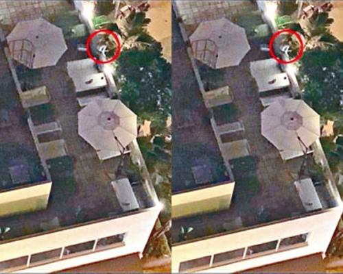 【修例風波】網上圖片證少年墮樓時無警員