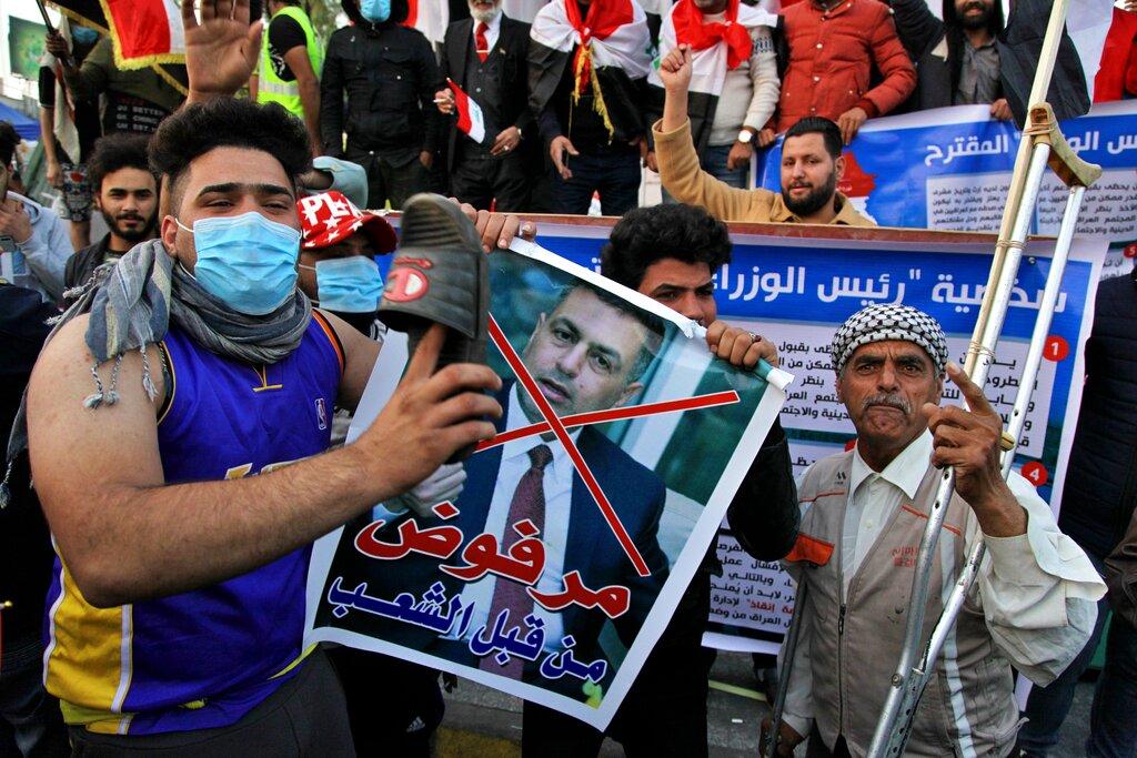 伊拉克总统辞职拒任命亲伊朗新总理。图