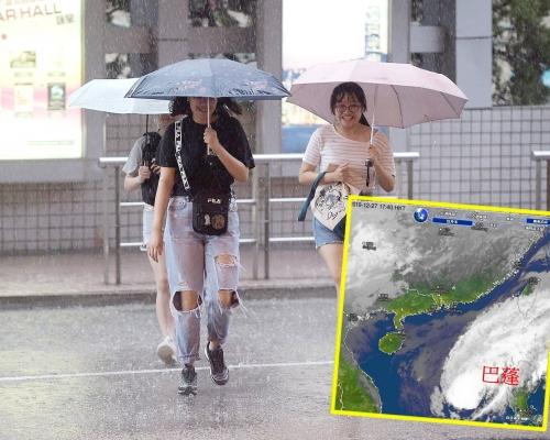 周日天氣轉差料降雨 天文台?#39608;?#24052;蓬」遇季候風致「奎明效應 」