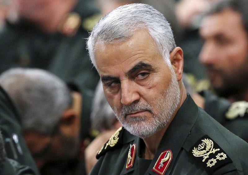 伊朗革命卫队指挥官领苏莱马尼,在美国袭击下身亡。