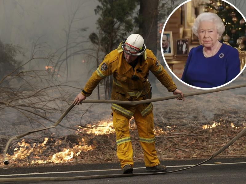 英女皇发声明对澳洲山火深感悲痛。