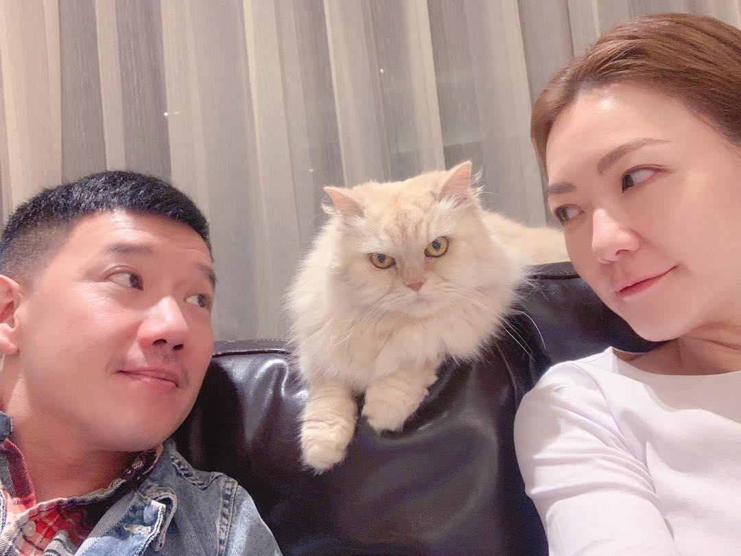 田蕊妮透露新年將與老公杜汶澤(左)到印尼朝聖。