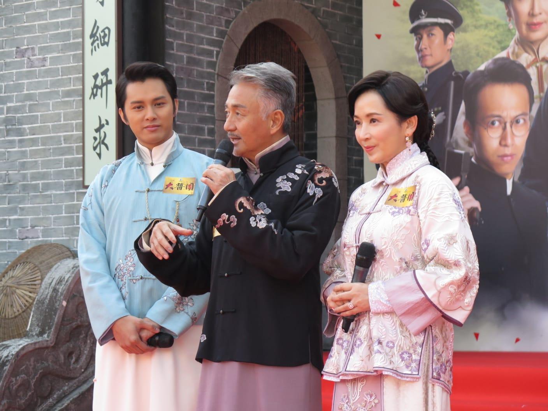 何廣沛、吳岱融及龔慈恩出席宣傳活動。