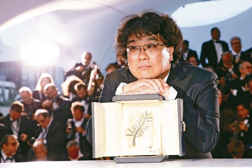 奉俊昊去年憑《上流寄生族》在康城攞大獎。