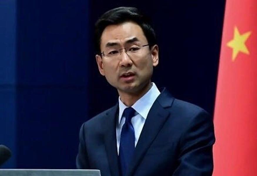 北京外交部發言人耿爽。
