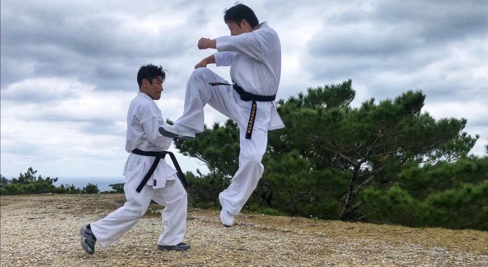 阿棠今次仲搵來兩屆K-1世界拳王魔娑斗參與演出,更有跟他對打戲份。