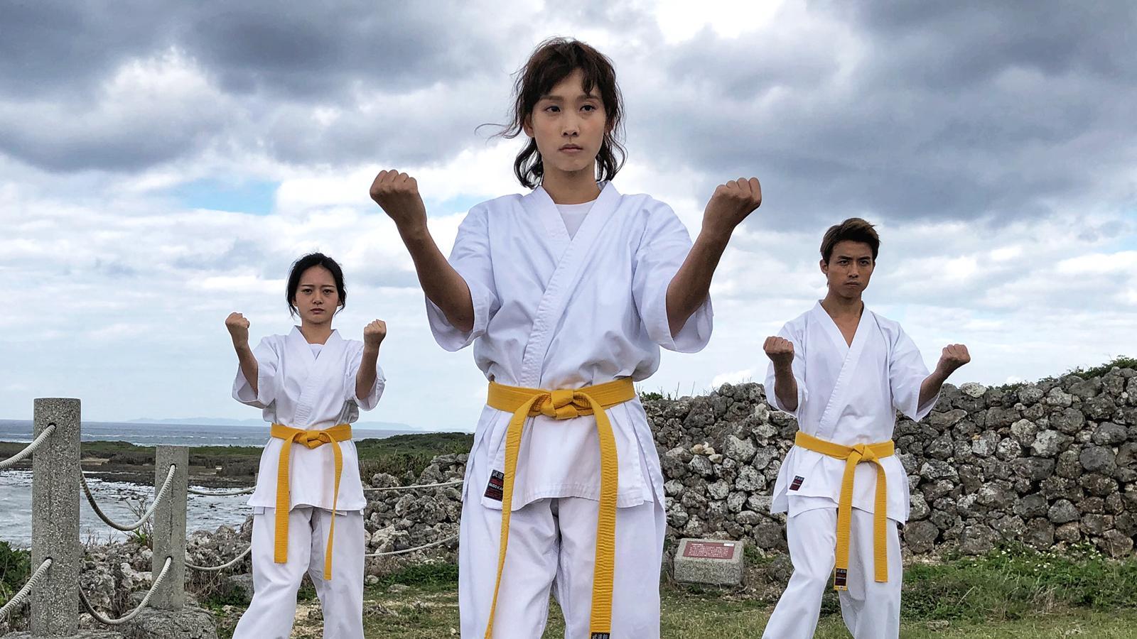 劇中阿棠三個徒弟,包括大師姐談善言、二師兄AK@MIRROR(江熚生)和小師妹內地演員葉麗娜。