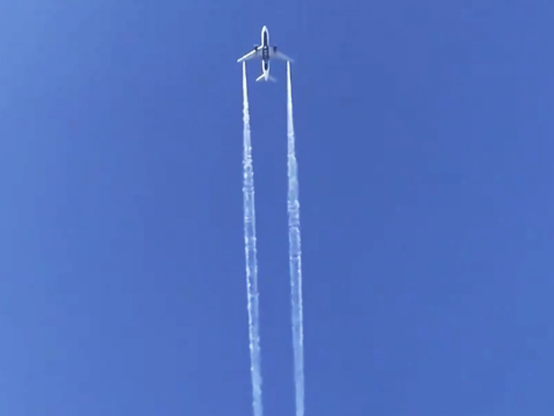 洛杉磯飛上海的一班達美航空客機緊急折返高空放油,致地面數十人受傷。AP