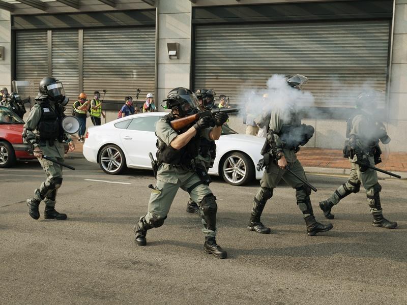 報道指警方或引入新武器。資料圖片