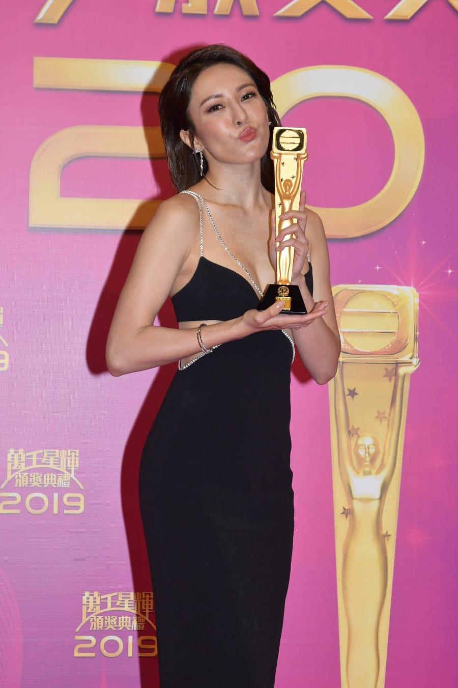 張曦雯勇奪今屆「飛躍進步獎」。