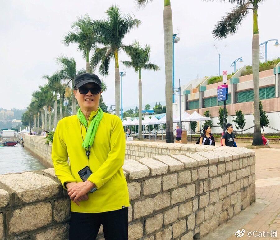康復中的松哥,11月初去咗西貢散步呼吸新鮮空氣。