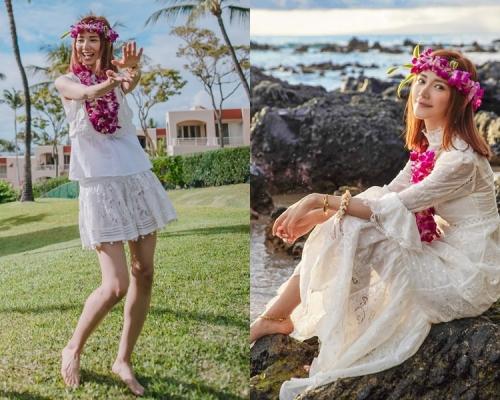 倪晨曦夏威夷開婚前派對留美好回憶