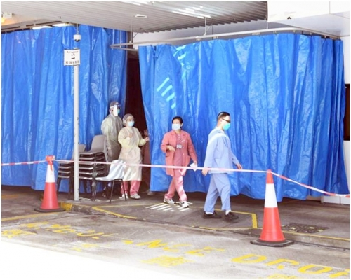 【武漢肺炎】再有一武漢男子抵港後不適 送東區醫院隔離治療
