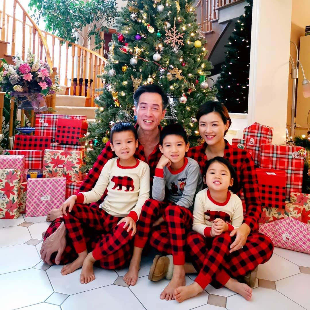 聖誕全家福。