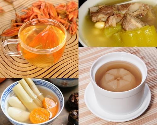 【新年後消滯】不停口吃煎炸零食 6款湯水茶飲下火清熱