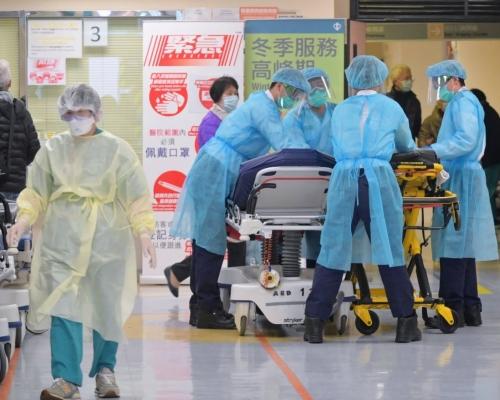 【武漢肺炎】東院手術室26人員請假 博愛亦有26名護士請假