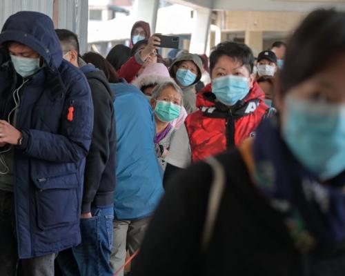 【武漢肺炎】政府:接觸過140多個供應商 口罩供應短期內仍緊張