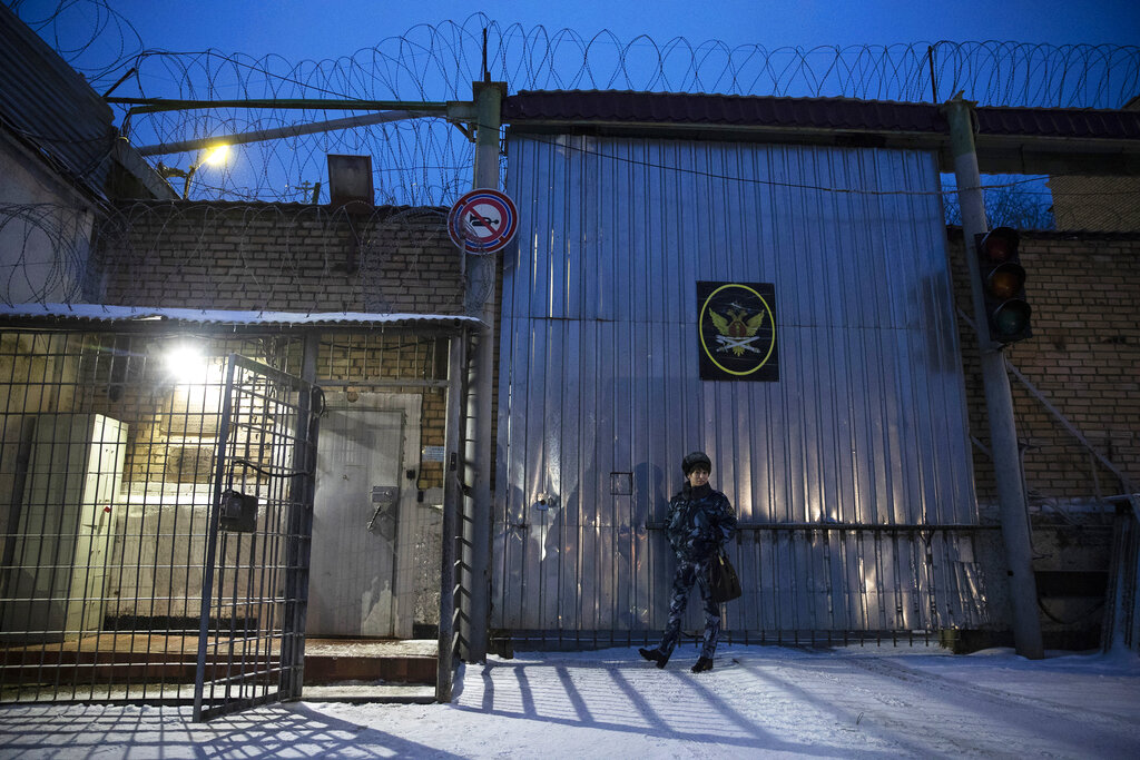 伊萨莎尔在莫斯科外一座监狱服刑。