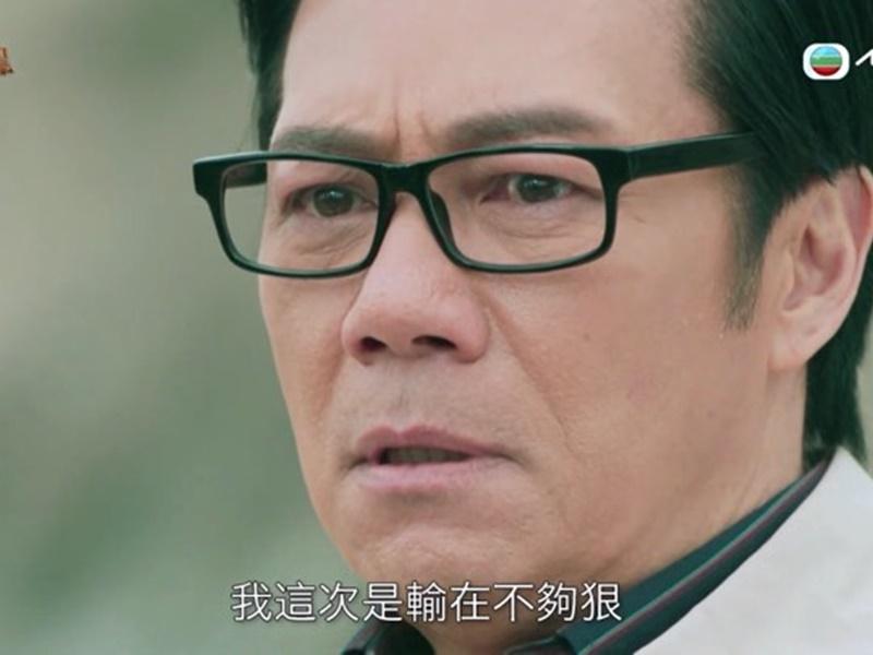 張兆輝演的榮木桐謂沒後悔過,讓他再來一次只會更加聰明。