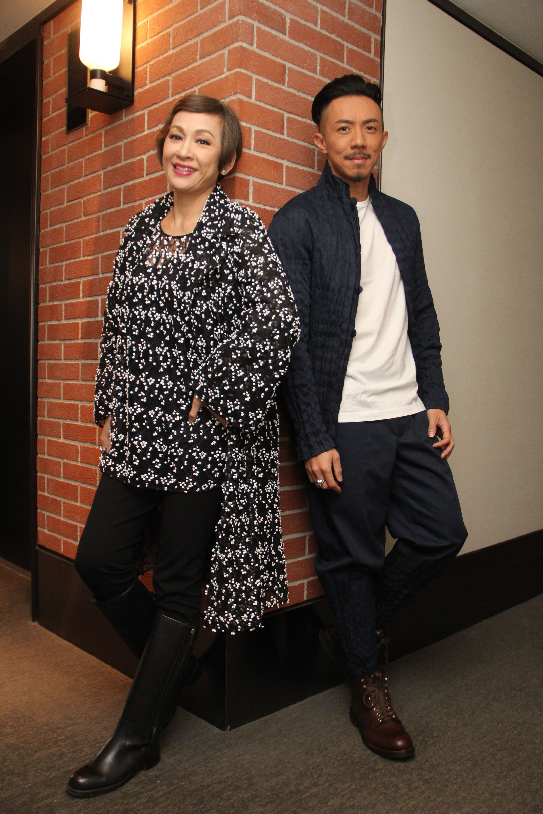 安安姐和阿聰大讚《Baby復仇記》劇本夠貼地,講出不少準父母的心聲。