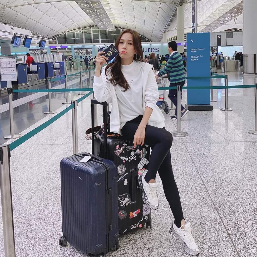 忙中有錯 之前Kelly因為護照有效期唔夠半年飛唔到檳城,喺香港機場食完個早餐就折返。