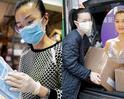 獲移居港人贈6千口罩助市民 方健儀緊張冒汗驚被「截劫」