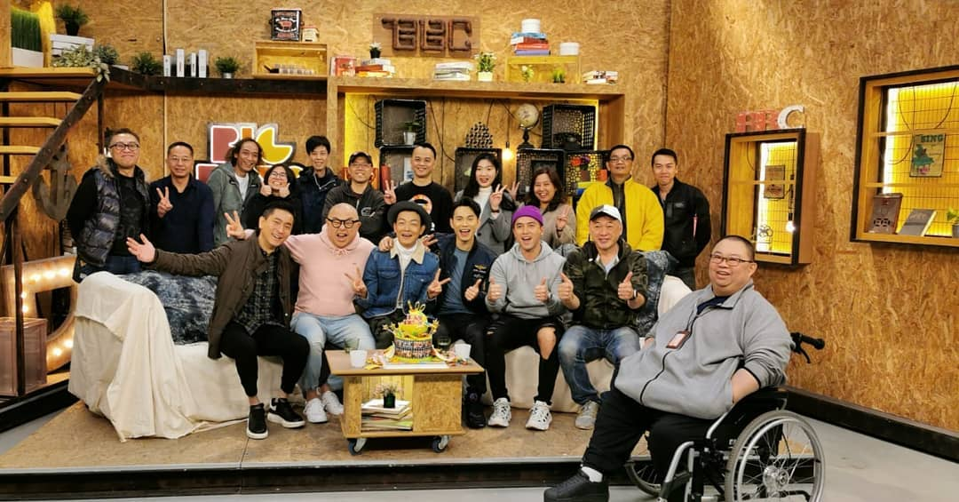 播足10年的《兄弟幫》於今年初結束,有份主持的陳國峰唯有冀望多拍劇和接外快賺奶粉錢……