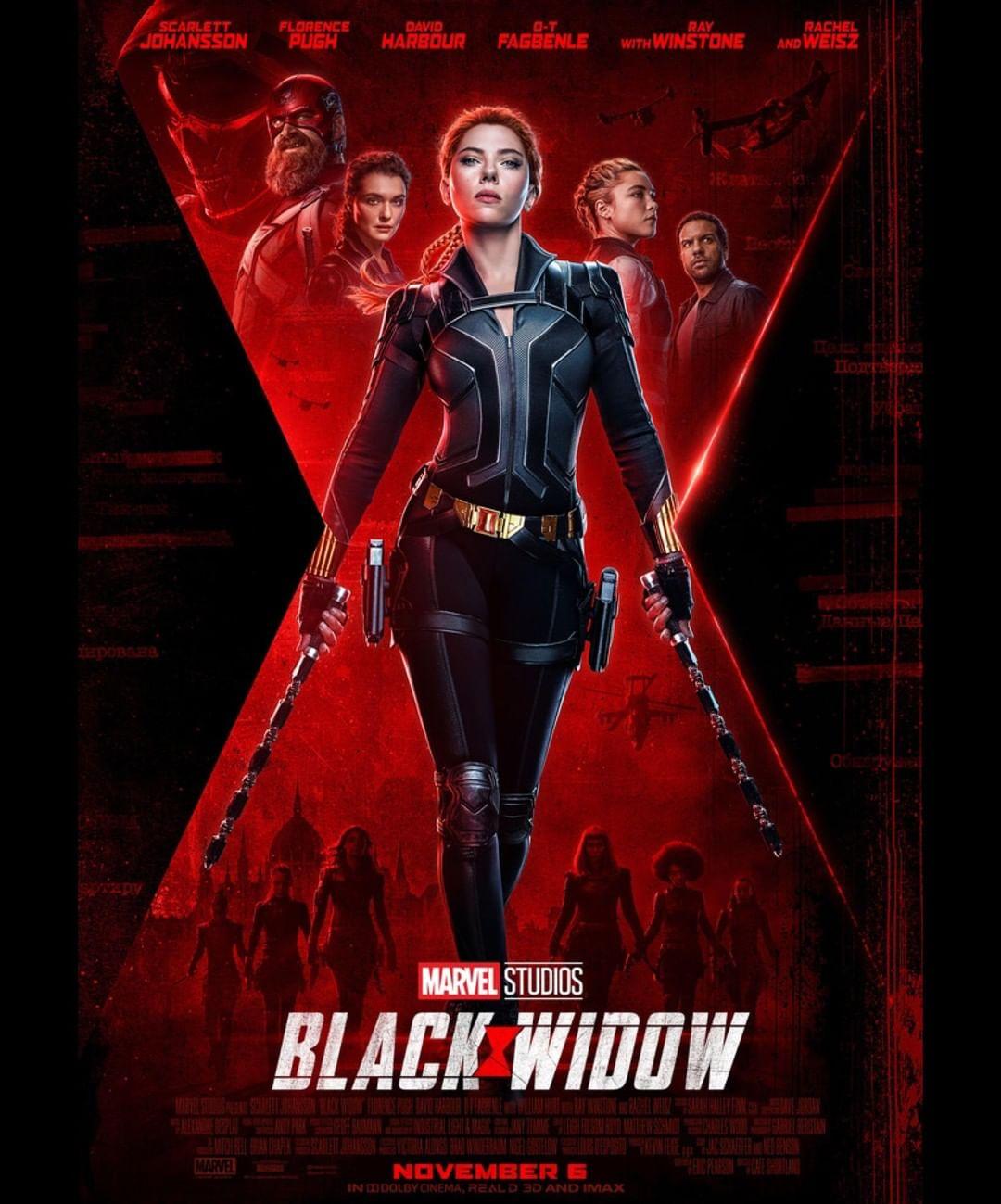 迪士尼重新安排MCU第四階段電影的上映日期,《黑寡婦》延至11月上映。