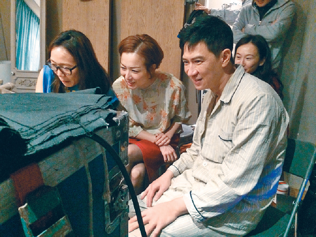 多栖动物的阿芝,去年执导拍摄电影《失恋急让》.